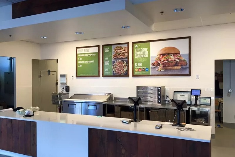 Healthy and Tasty: The First USDA-Certified Organic Fast Food Restaurant in the United States